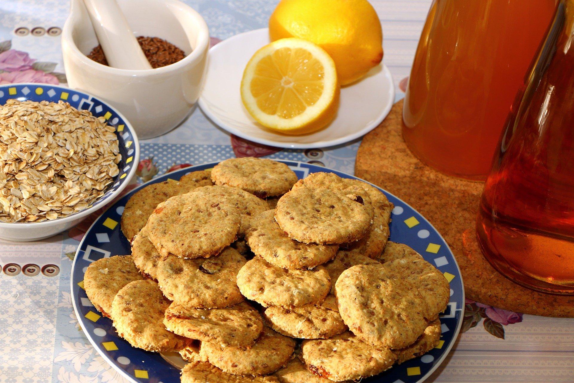 biscotti avena proteici